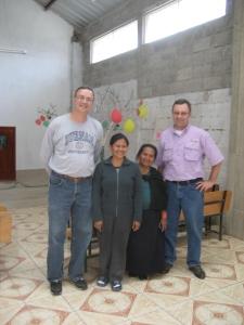 Luzmilla, Laura, Santiago and Ventana